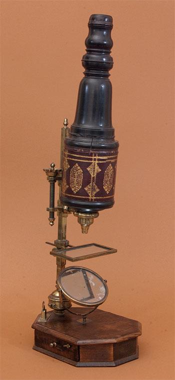 Старинные микроскопы. 16-19 век.